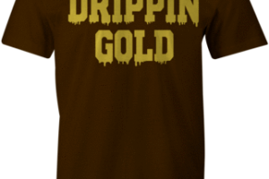 drip gold png 2