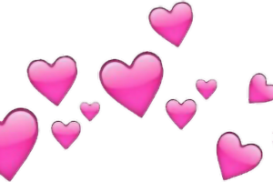 transparent heart meme png 1